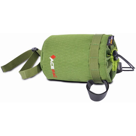 Acepac Fat Bottle Bag - Bolsa bicicleta - verde/negro